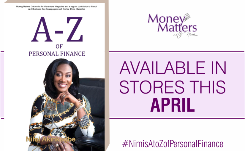 My Book 'A-Z of Personal Finance' AVAILABLE IN STORES THIS APRIL!!
