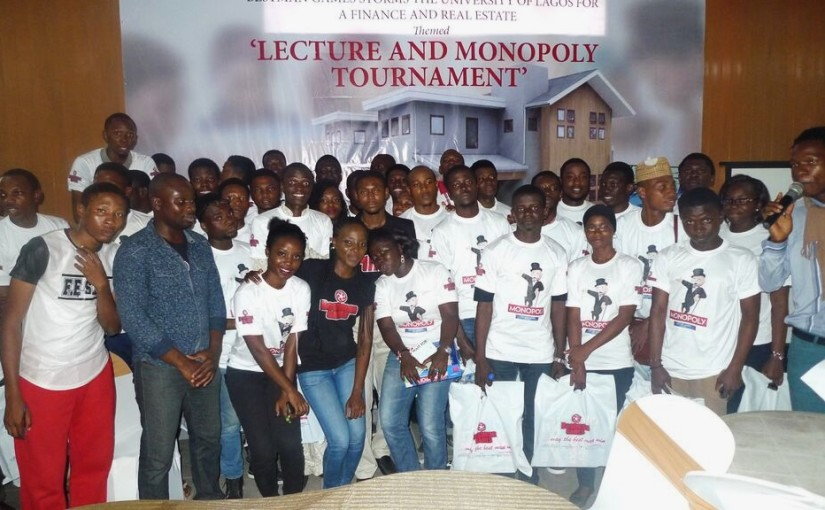 Bestman Games Fetes UNILAG Students, Organises Monopoly Competition