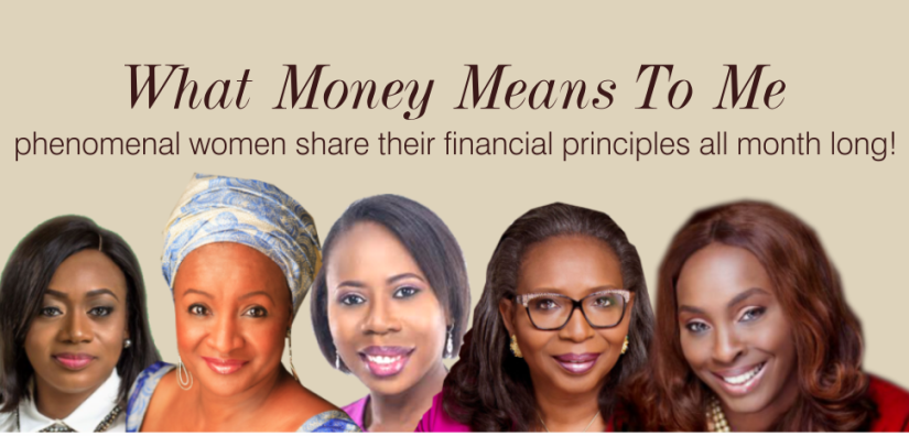 women and money banner a