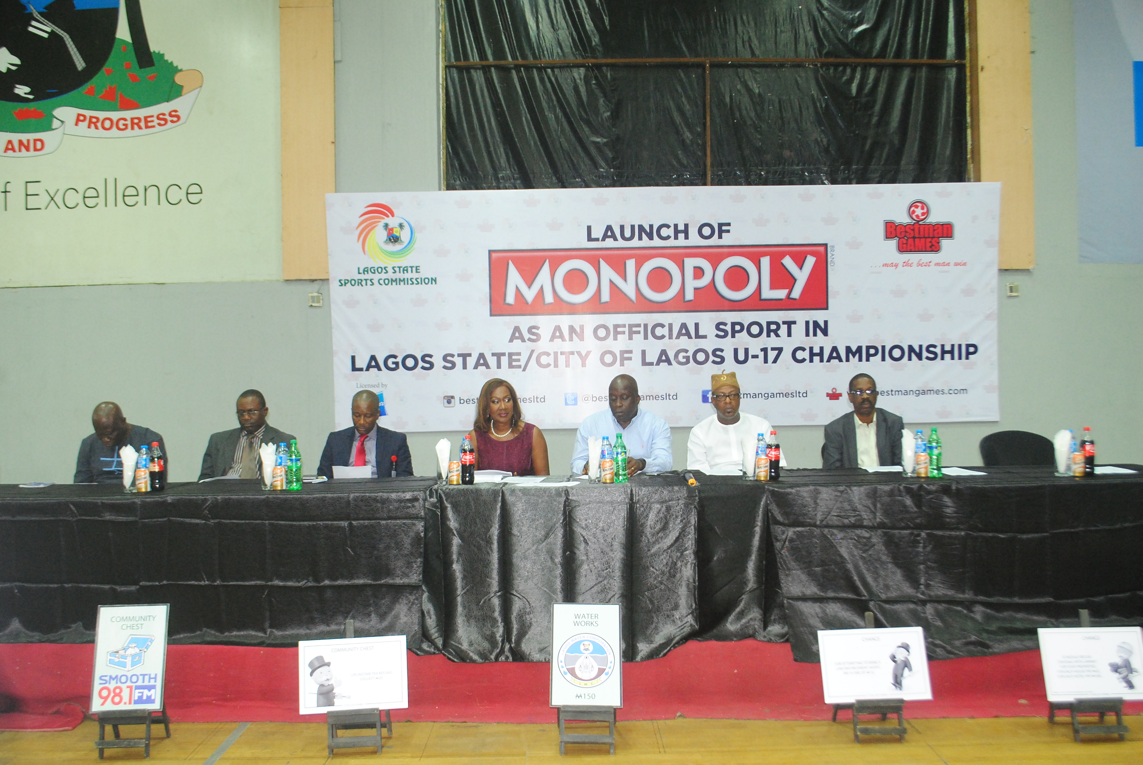 Launch of Monopoly as an Official Sport of Lagos State, Teslim Balogun Stadium, Lagos