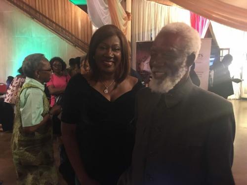 Nimi Akinkugbe and Chief Olopade